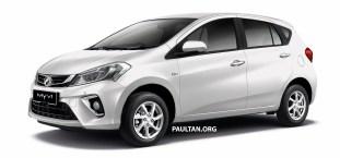 2018 Perodua Myvi 1.3 Premium X Ivory White