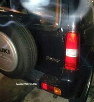 Suzuki Jimny spy 3