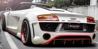 Audi R8 V10 Spyder Gets Outrageous Bodykit From Regula Tuning