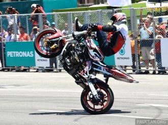 Petronas Motorsports Demo Run 8