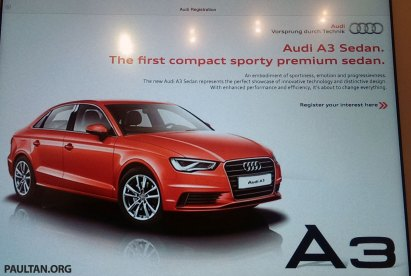 Audi A Sedan And A Facelift To Launch In Malaysia - Audi sedan price