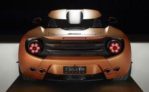 Lamborghini 5-95 Zagato Spyder spotted on the web