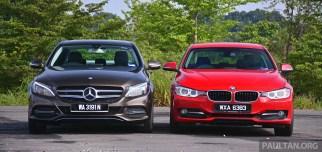 W205_Mercedes-Benz_C-Class_vs_F30_BMW_3_Series_ 012