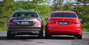Worksheet. W205 MercedesBenz CClass vs F30 BMW 3 Series
