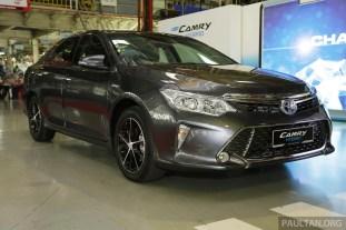 Toyota Camry Hybrid Line Off 29