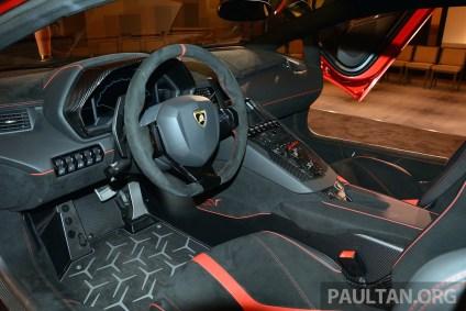 Lamborghini Aventador SV 25