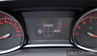 Peugeot 308 Intl Test Drive 45