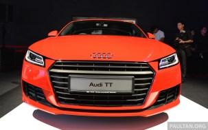 2015 Audi TT 2.0 TFSI 3
