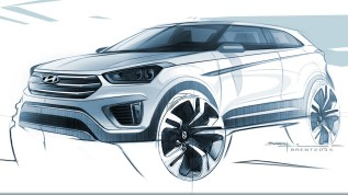 150608_Hyundai Motor unveils first rendering of Creta subcompact SUV