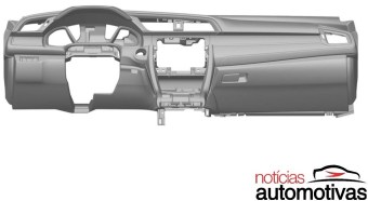 2016 Honda Civic dash patent-01