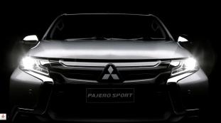 Mitsubishi Pajero Sport teaser 11
