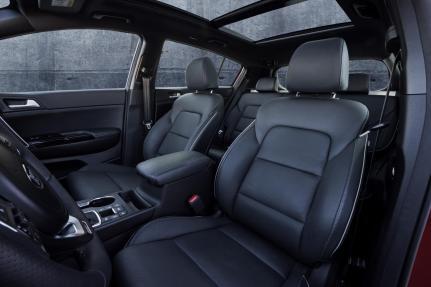 New Sportage Interior 02