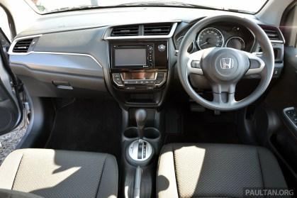 Honda BR-V drive Japan 2015-5