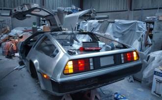QUB Electric DeLorean project FB 1