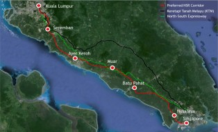 HSR stations proposed