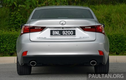 Lexus IS 200t Review 19