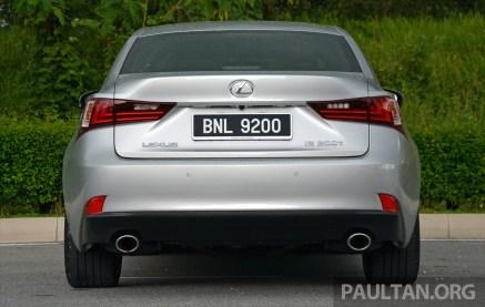 Lexus IS 200t Review 19