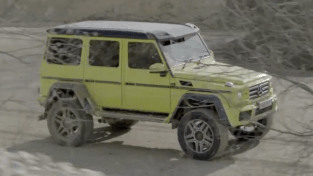 Mercedes-Benz G500 4×4² screenshot-02