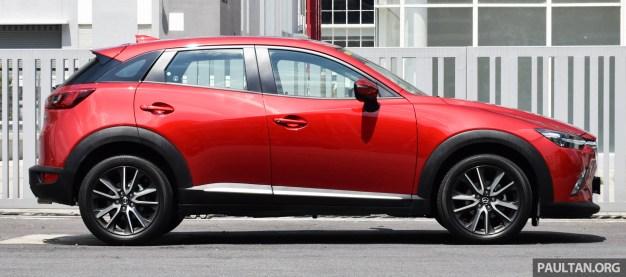 Mazda CX-3 2.0L review 7