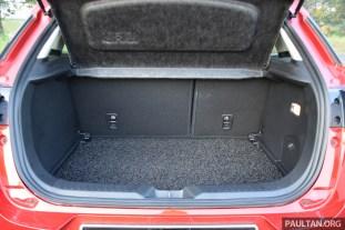 Mazda CX-3 2.0L review 75