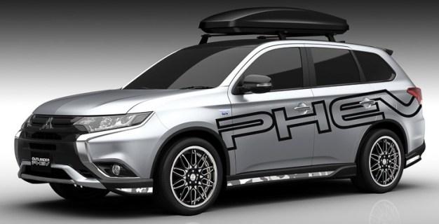 Mitsubishi Outlander PHEV Tokyo Auto Salon 16-02