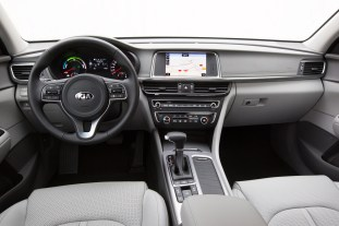 Kia Optima Plug-in Hybrid - Interior 1