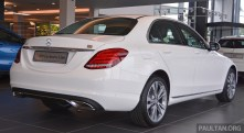 W205 Mercedes-Benz C200 Exclusive Malaysia 006