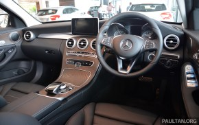W205 Mercedes-Benz C200, C250 now with 9G-Tronic gearbox, spec