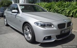 2016 F10 BMW 520i M Sport LCI Malaysia 001
