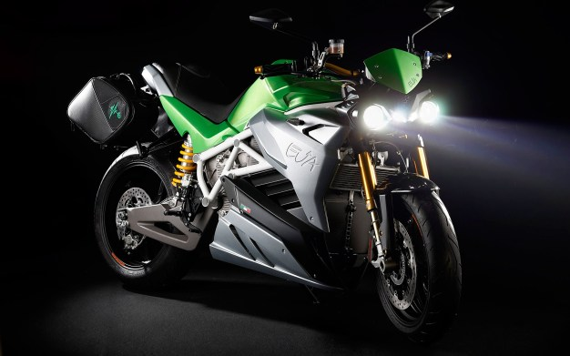 Energica Eva streetfighter electric motorcycle - 1