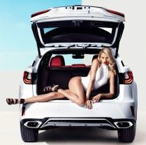 Lexus RX F Sport and Hailey Clauson-01