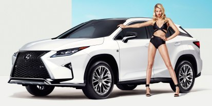 Lexus RX F Sport and Hailey Clauson-04