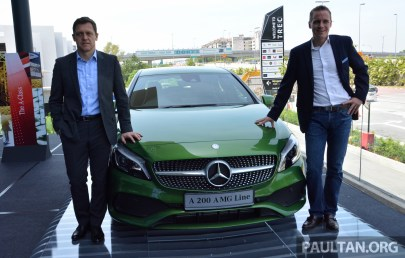 Mercedes-Benz A-Class FL launch-1
