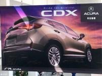 2016 Acura CDX Beijing brochure leak 2
