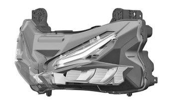 2016 Honda CBR250RR headlight - 5