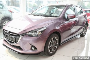 2016 Mazda 2 Smokey Rose 2