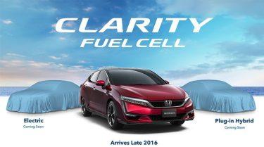 Honda Clarity series teaser
