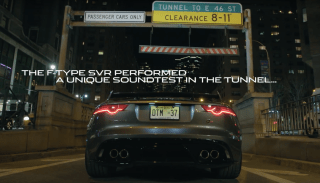 Jaguar F-Type SVR sound test screenshot-01