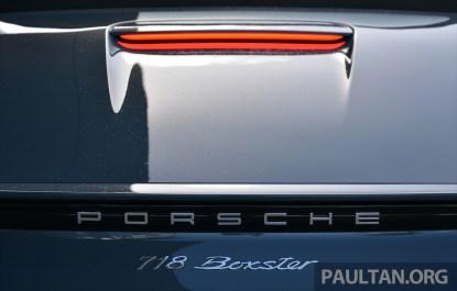 Porsche 718 Boxster S Review 37