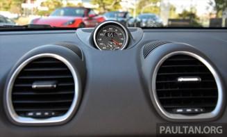 Porsche 718 Boxster S Review 53