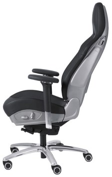 "video: porsche 911 - ""office chair rs"" sports seat"