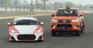 Toyota Hilux TRD Sportivo vs 86 Thailand 1