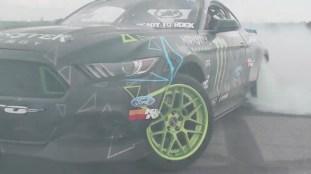 Vaughn Gittin Jr. Tests 900 hp Ford Mustang RTR 5
