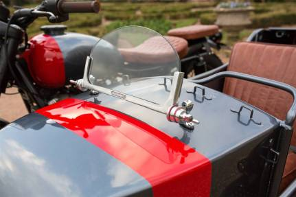 Kevil's Speed Shop four-seater Ural sidecar custom