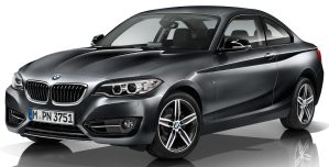 BMW 1 Series 2 Series 2017 MY update 1