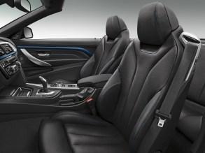 BMW Dakota trim black with blue stitching-01
