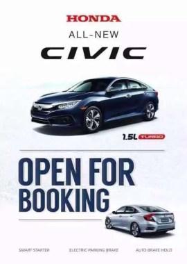 Honda Civic promo material 1