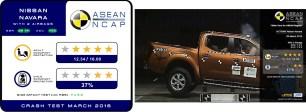 Nissan Navara ASEAN NCAP