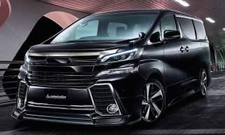Toyota Vellfire admiration by Modellista-7