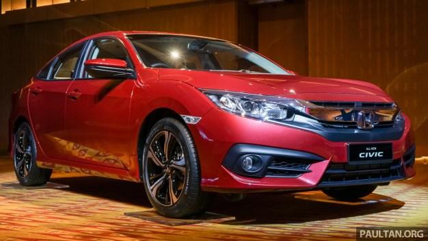 2016 Honda Civic 1.5T 1